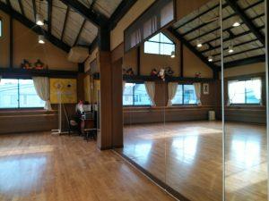 バレエ教室バレエハウス本田のスタジオ