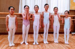 小学生低学年と幼児バレエクラス