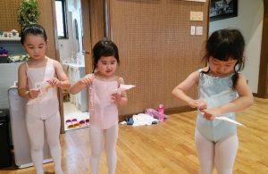岡山県岡山市北区バレエ幼児クラス バレエハウス本田