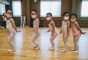 バレエハウス本田幼稚園のバレエクラス