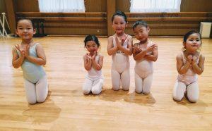 岡山バレエスタジオ バレエハウス本田幼児クラス