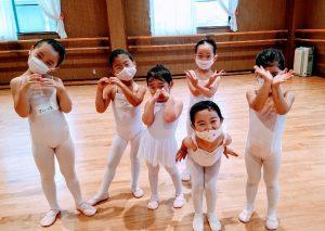岡山県岡山市バレエ教室 バレエハウス本田幼児クラス