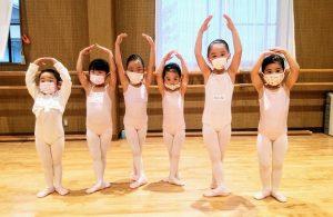 バレエハウス本田幼児クラス